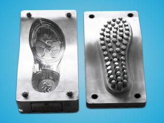 Shoe mold making by CNC mold making machine