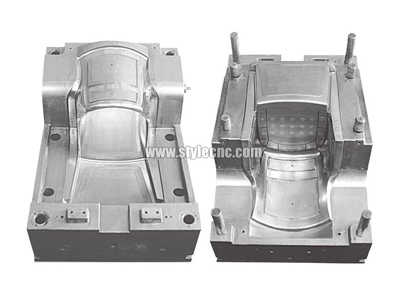 CNC mold making machine sample