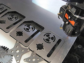 Laser metal cutting machine parts influence on cutting effect