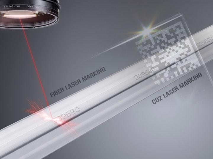 A comparison between fiber laser marking machine and CO2 laser marking machine