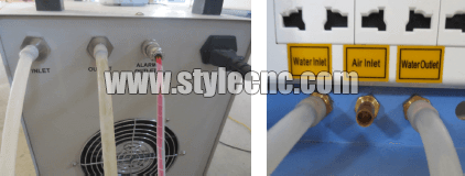 CO2 laser machine water pump