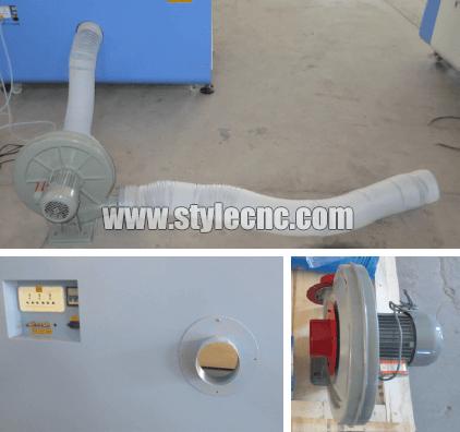 CO2 laser machine dust collector