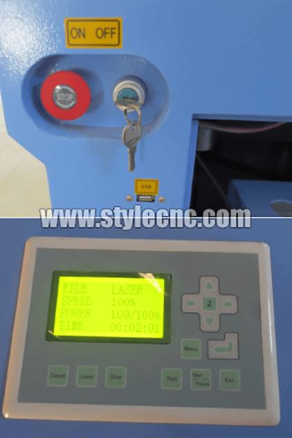 CO2 laser machine power