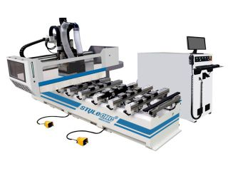PTP all-rounder working center for CNC woodworking, furniture processing