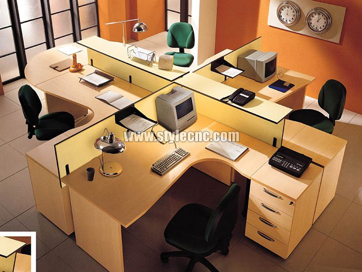 PTP all-rounder CNC working center samples for office furniture