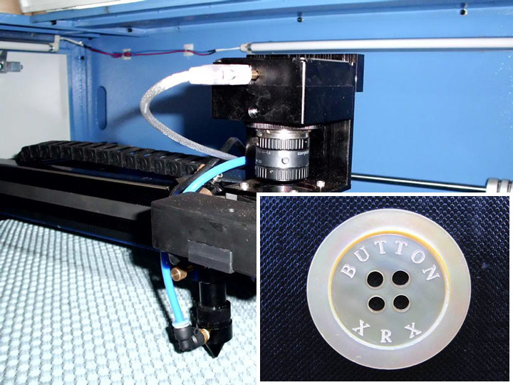 Laser engraving machine is widely used in plastic products