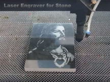 Laser engraver for stone is coming