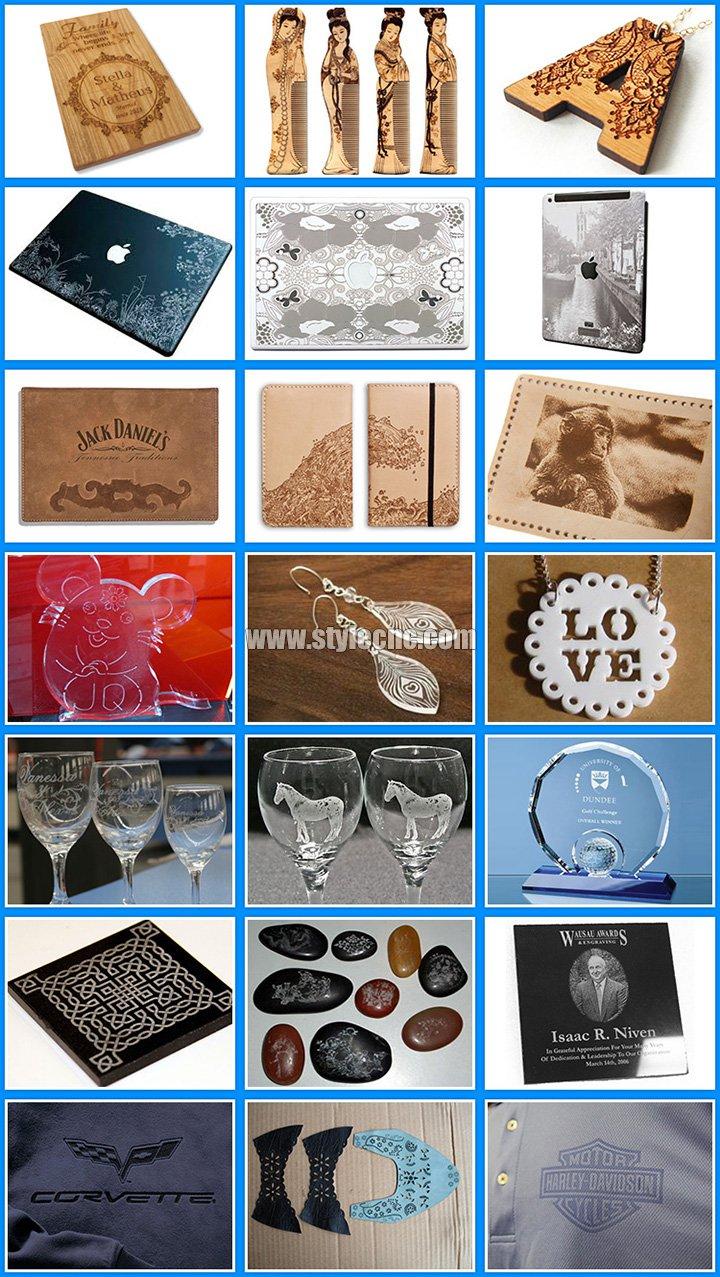 Laser engraver samples