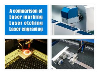 A comparison of Laser engraving machine, Laser etching machine and Laser marking machine