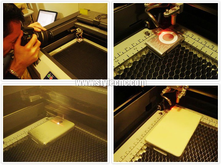 Laser etching process