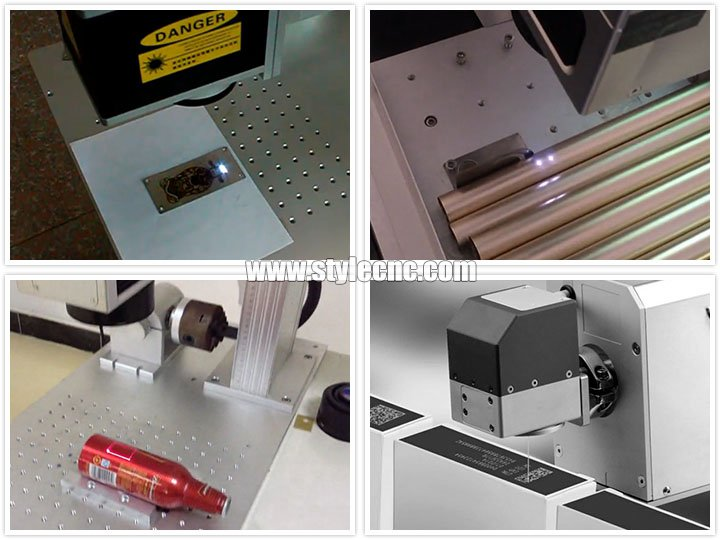 Laser marking process