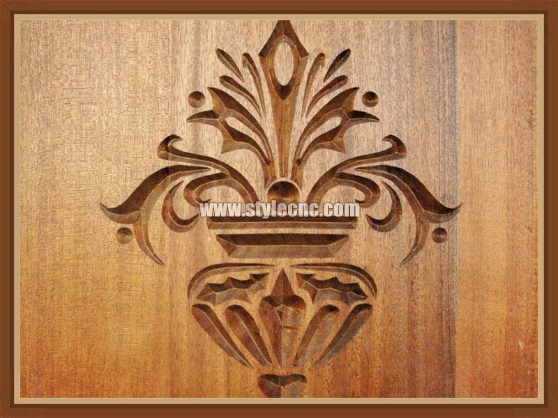 Relief engraving samplesby CNC wood router