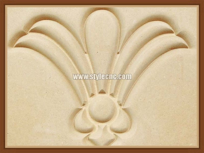 Relief carving by CNC wood router
