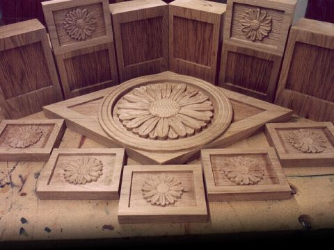 <b>Relief carving and engraving by CNC wood router</b>