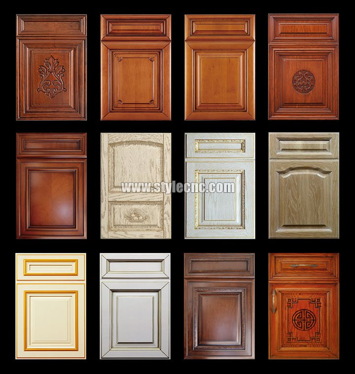 Cabinet door projects by Wood carving machine