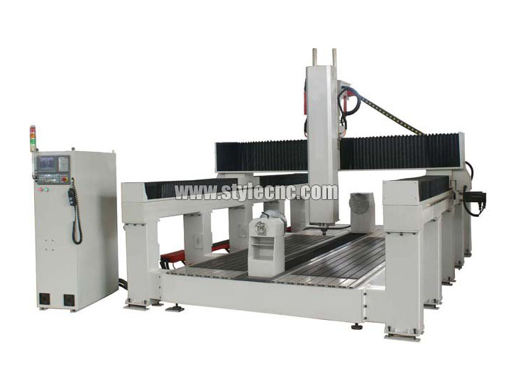 4th Axis EPS CNC Foam Router Machine