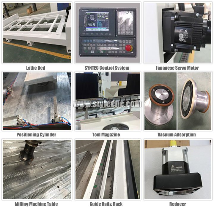 Spare parts of CNC stone cutting and polishing machine for quartz, granite, marble