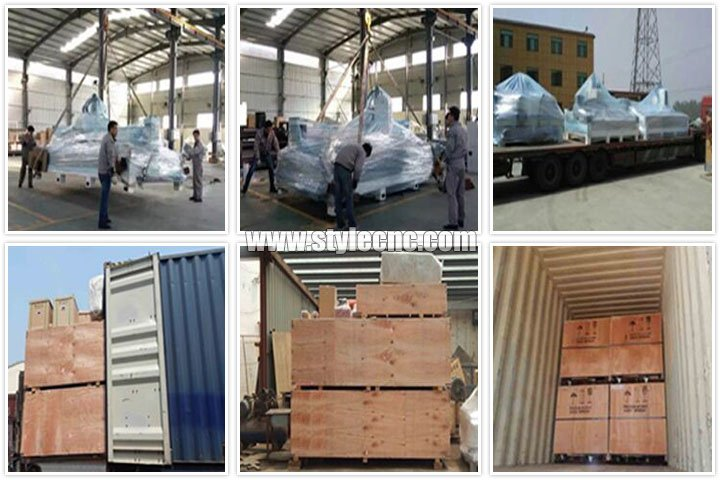 Packages of CNC stone cutting and polishing machine for quartz, granite, marble