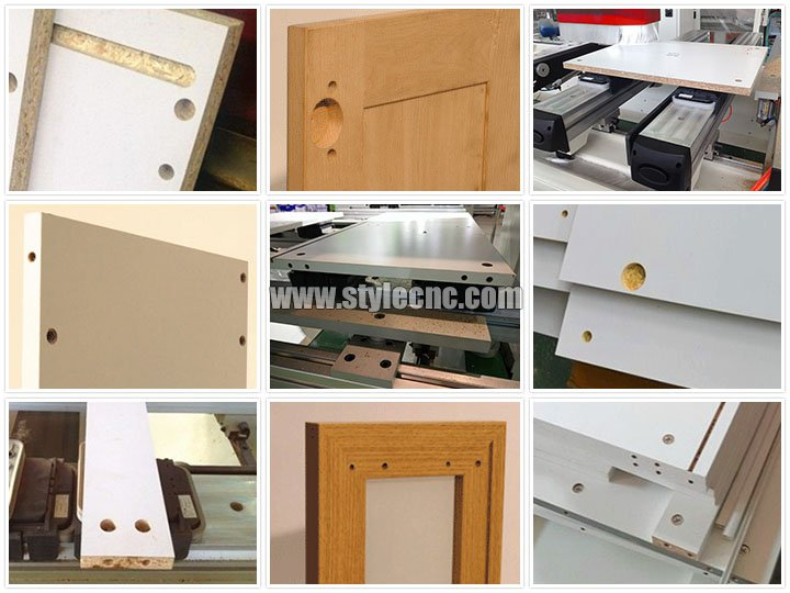 The Fourth Picture of PTP CNC router for wood furniture routing, drilling, cutting, milling