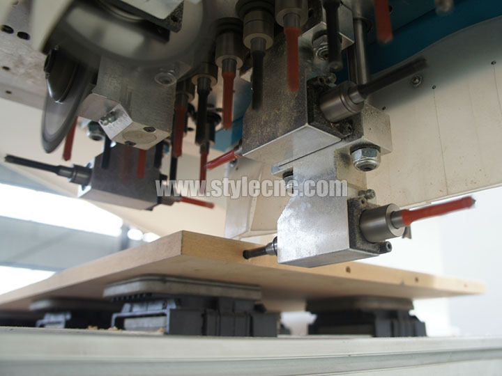 The First Picture of PTP CNC router for wood furniture routing, drilling, cutting, milling