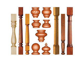 CNC Wood Lathe Applications and Samples