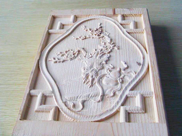 Linear ATC CNC Wood Router for Relief Carving Project