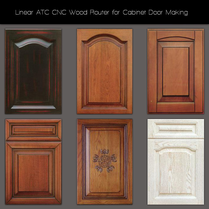 Linear ATC CNC Wood Router for Cabinet Door Making Projects