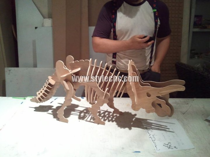 Wood laser cutting machine sample 02
