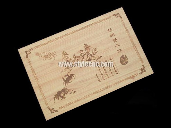 Wood laser engraving machine sample 02