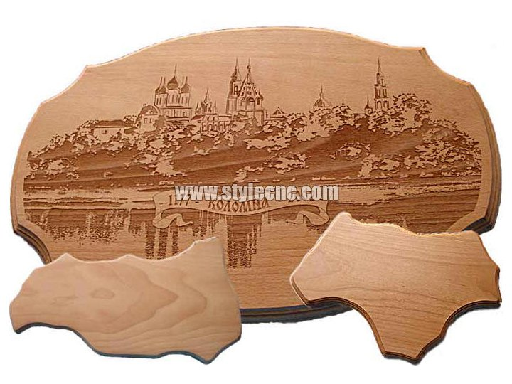 Wood laser engraving machine samples 03