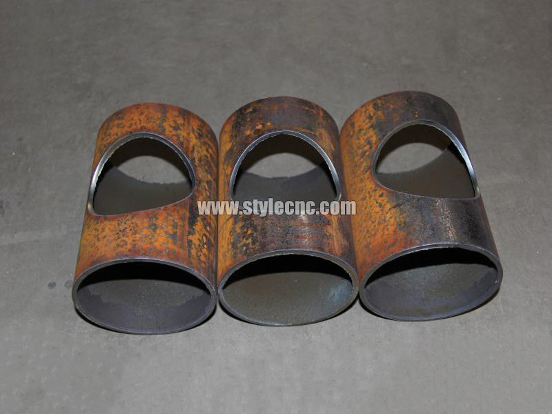 Metal Square And Round Tube Cutting Samples By Plasma