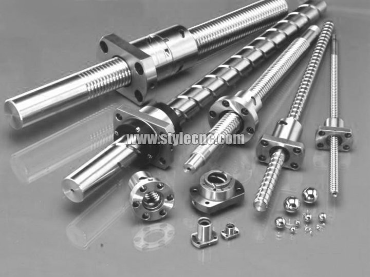 Ballscrew transmission for CNC router