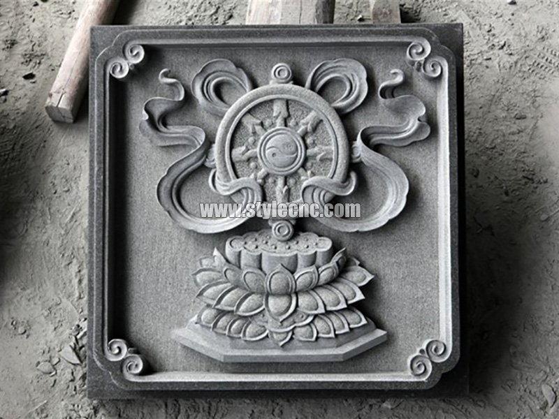 CNC stone carving machine sample
