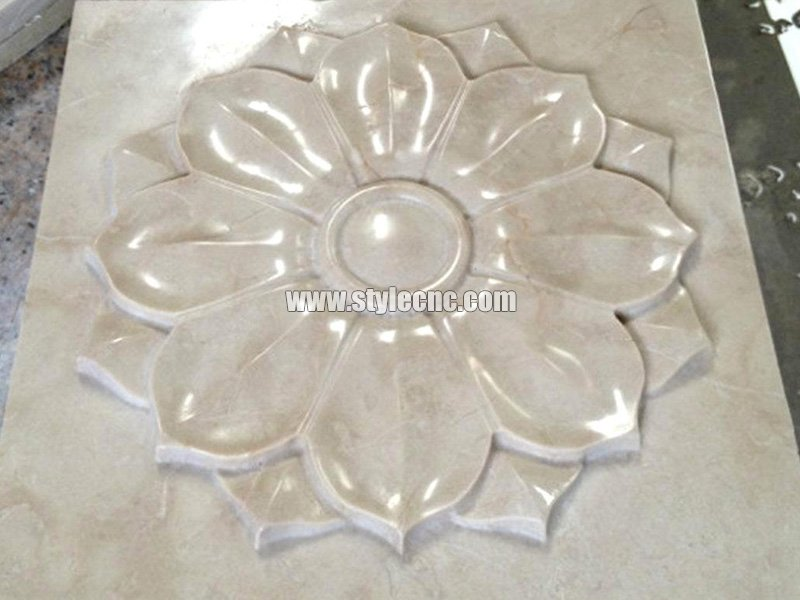 CNC marble carving sample 04 by stone engraving machine