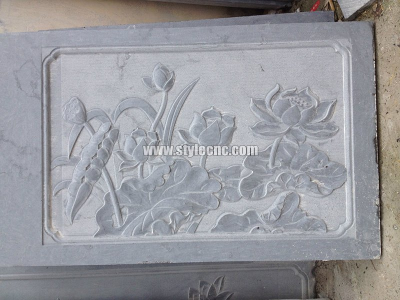 CNC marble carving sample 06 by stone engraving machine