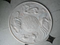 CNC marble carving samples by stone engraving machine