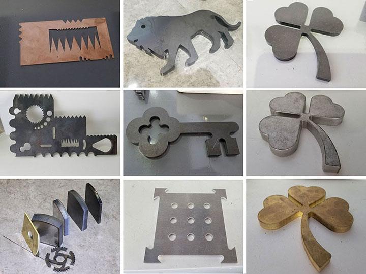 iber laser cutting machine 1200W laser cut metal signs samples