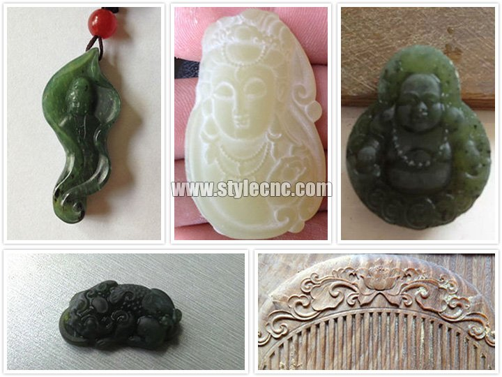 The Second Picture of CNC Jade Carving Machine for sale