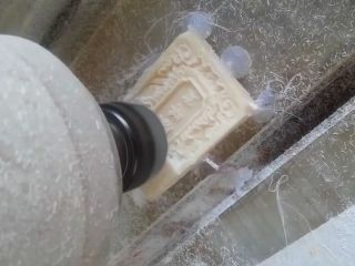 Ivory carving as crafts by STYLECNC Ivory CNC router