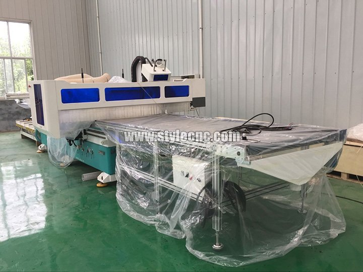 Full automatic nesting CNC router for customized furniture
