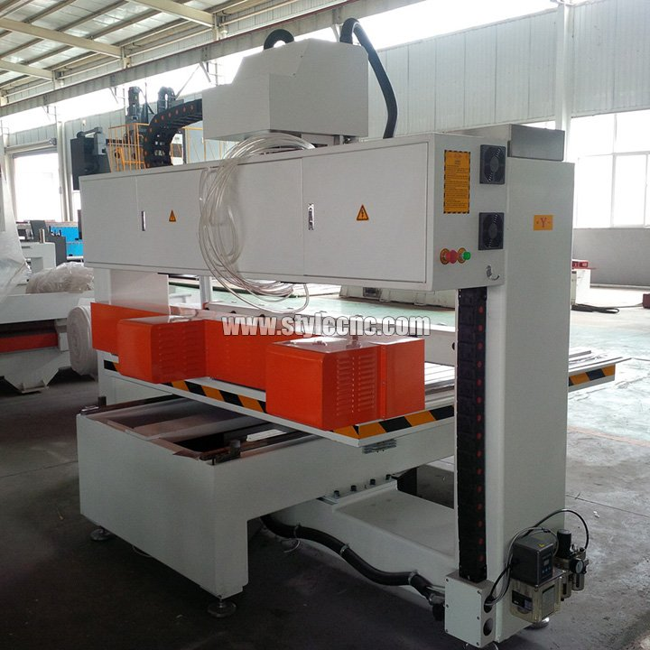 CNC router with 4 axis rotary