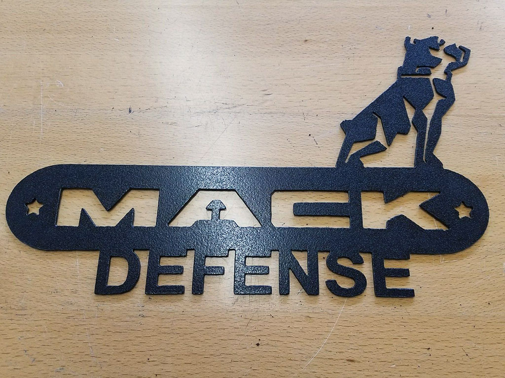 CNC Plasma Cutting Metal Logos