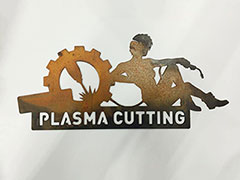 CNC plasma cutting samples for thin metals by STYLECNC plasma cutter