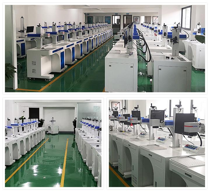 Desktop fiber laser marking machines for metal and non-metal