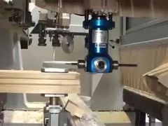 Full automatic and multi-function CNC machining center for woodworking process