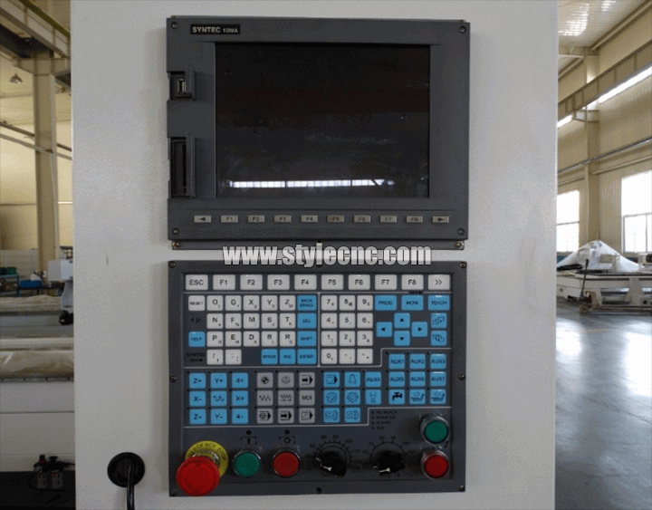 Taiwan Syntec control system for 5 axis cnc router