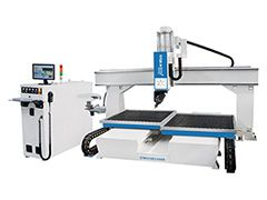 Double table mini 5 axis CNC machining center