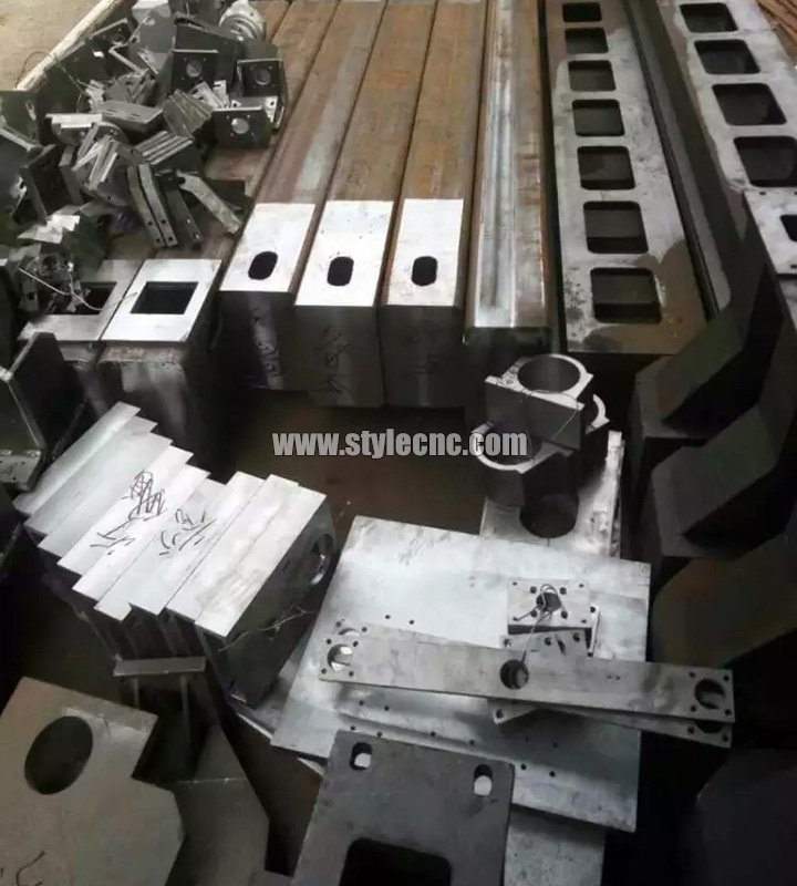 High-precision CNC router parts