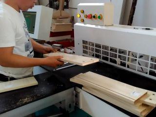 Full automatic CNC side drilling machine working process