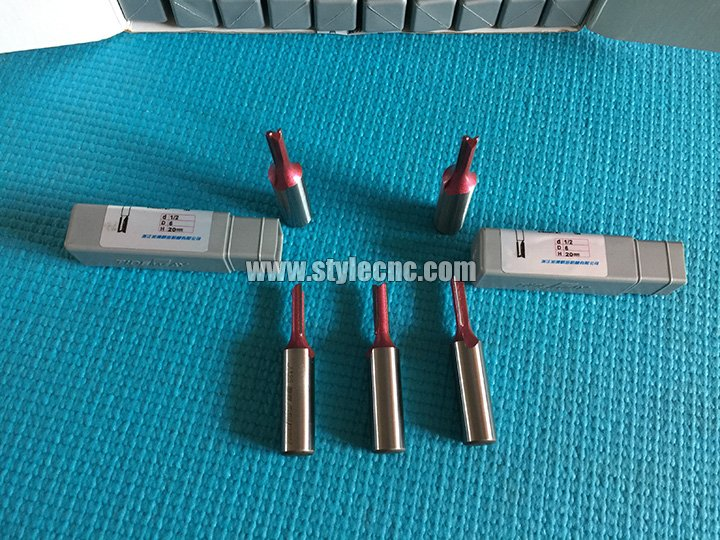 The Second Picture of Straight CNC router bit for woodworking